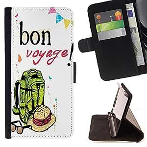 - Voyage - - Prima caja de la PU billetera de cuero con ranuras para tarjetas, efectivo Compartimiento desmontable y correa para la mu?eca FOR Apple iPhone 6 6S 4.7 King case