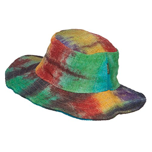 Rasta-Wired-Brim-Hemp-Hat