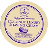 Taylor of Old Bond Street Shaving Cream Bowl, Coconut, 5.3 Ounce