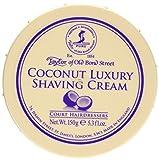 Coconut Oil Shaving Taylor of Old Bond Street Shaving Cream Bowl, Coconut, 5.3 Ounce