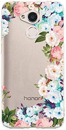 WIWJ Funda para Huawei Honor 6A Carcasa Hollow Pintado Suave ...
