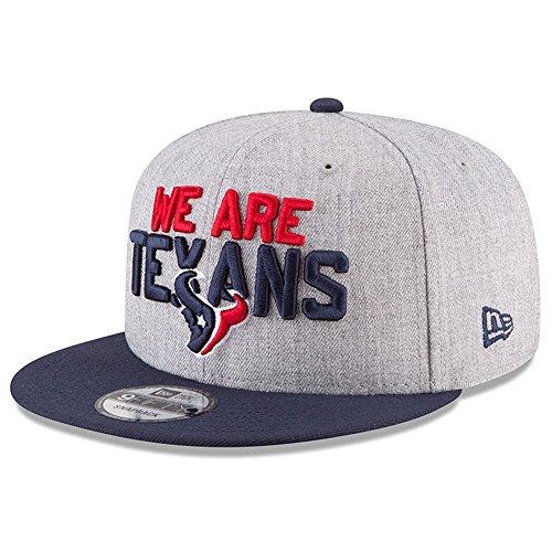 New Era Snapback Cap - NFL 2018 DRAFT Houston Texans