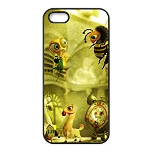 3D dolls For Iphone 5/5S Phone Case Cover Black