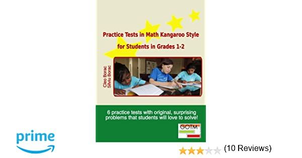Practice Tests in Math Kangaroo Style for Students in Grades 1-2 ...