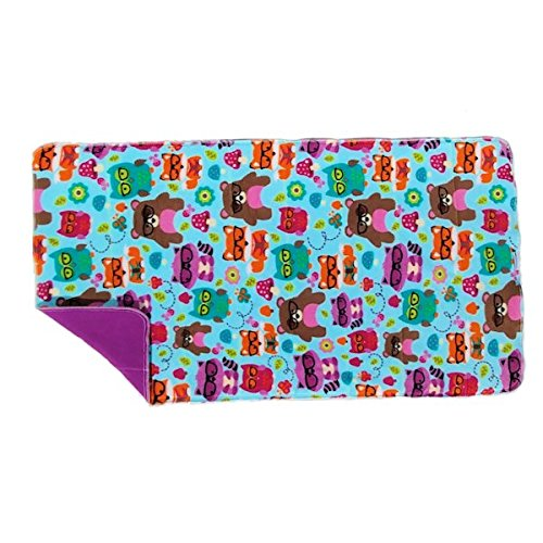 Washable Absorbent Fleece Cage Liner for Midwest Guinea Pig Habitat (Nerdy Forest Friends)