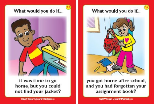 What Would You Do At School If. Fun Deck Cards - Super ...