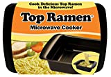 Top Ramen Rapid Cooker - Microwave Ramen in 3 Minutes - BPA Free and Dishwasher Safe