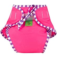 Kushies Swim Diaper, Pink Solid, X-Large by Kushies