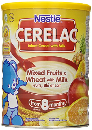 Nestle Cerelac Infant Cereal, Mixed Fruits & Wheat with Milk