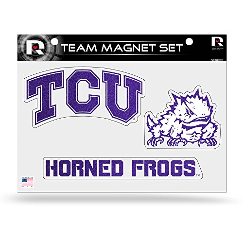 NCAA TCU Horned Frogs Bling Team Magnet Set