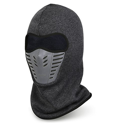 VBIGER Balaclava Ski Mask Windproof Ski Cap For Skiing & Snowboarding & Cycling (Grey)