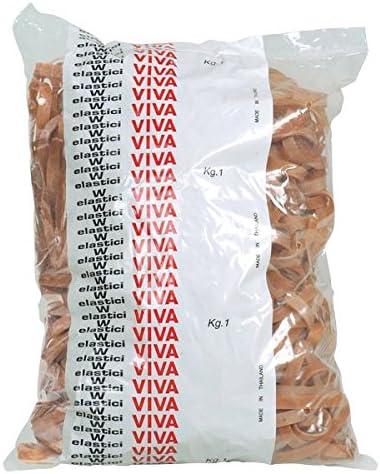 Viva G8X100B Fettuccia in Gomma Naturale Diametro 100 x 8 Marrone
