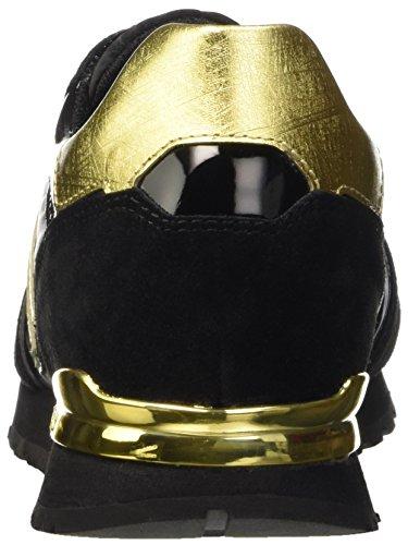 Donna Bassa Numb Con nero Scarpa er Da Pompe 741 Nylon Oro Nabuk Bikkembergs Piatte aPCgqx