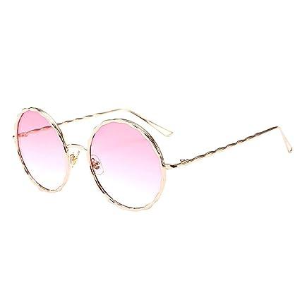 Hunpta@ 1 Gafas de Sol Circulares de Moda, Unisex, Estilo ...
