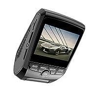 Caméra Embarquée Voiture 1080p Full HD LCD 2,4 pouces Dashcam Caméra pour Voiture avec Objectif à Grand Angle de 170 Degrés,DVR,Enregistrement en Boucle,WDR,G-capteur,Moniteur de Stationnement par Range Tour