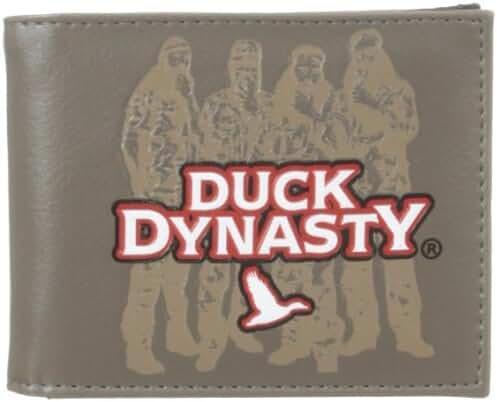 Duck Dynasty Men's Camo Billfold Wallet