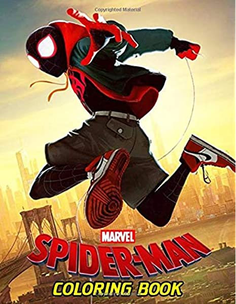 Marvel Spiderman Coloring Book Over 50 Spider Man Coloring Pages For Boys Girls Funny Books For Kids Ages 4 8 Davis Russell 9781699324455 Amazon Com Books