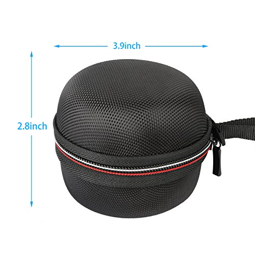 Carrying Bag for Echo Dot, Travel Protective Bag with 2 Silicone Protective Cases for Echo Dot 2nd Gen