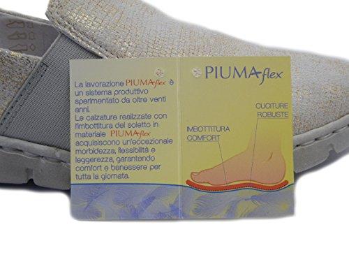 Slipon oro Pelle Greenhill 38380 E17 Beige Flessibile In Suola Gomma drTTqI