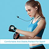 Bluetooth Headphones 4.2 Wavefun Neckband Sports Headphones with 9 Hours Playtime Lightweight Wireless Headsets with IPX5 Sweatproof & Mic, In Ear Earbuds Noise Cancelling Magnetic Earphones