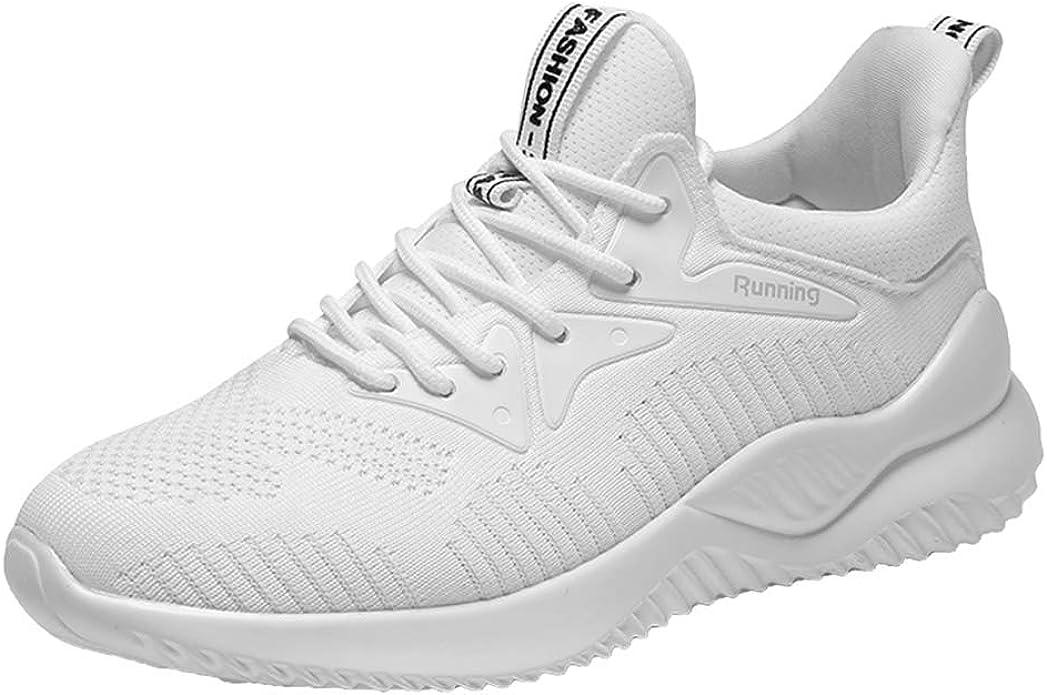 Decai Mujeres Zapatillas de Deportivos de Running para Mujer Gimnasia Ligero Sneakers Malla Transpirable con Cordones Zapatillas Deportivas para Correr Fitness Atlético Caminar Zapatos: Amazon.es: Zapatos y complementos