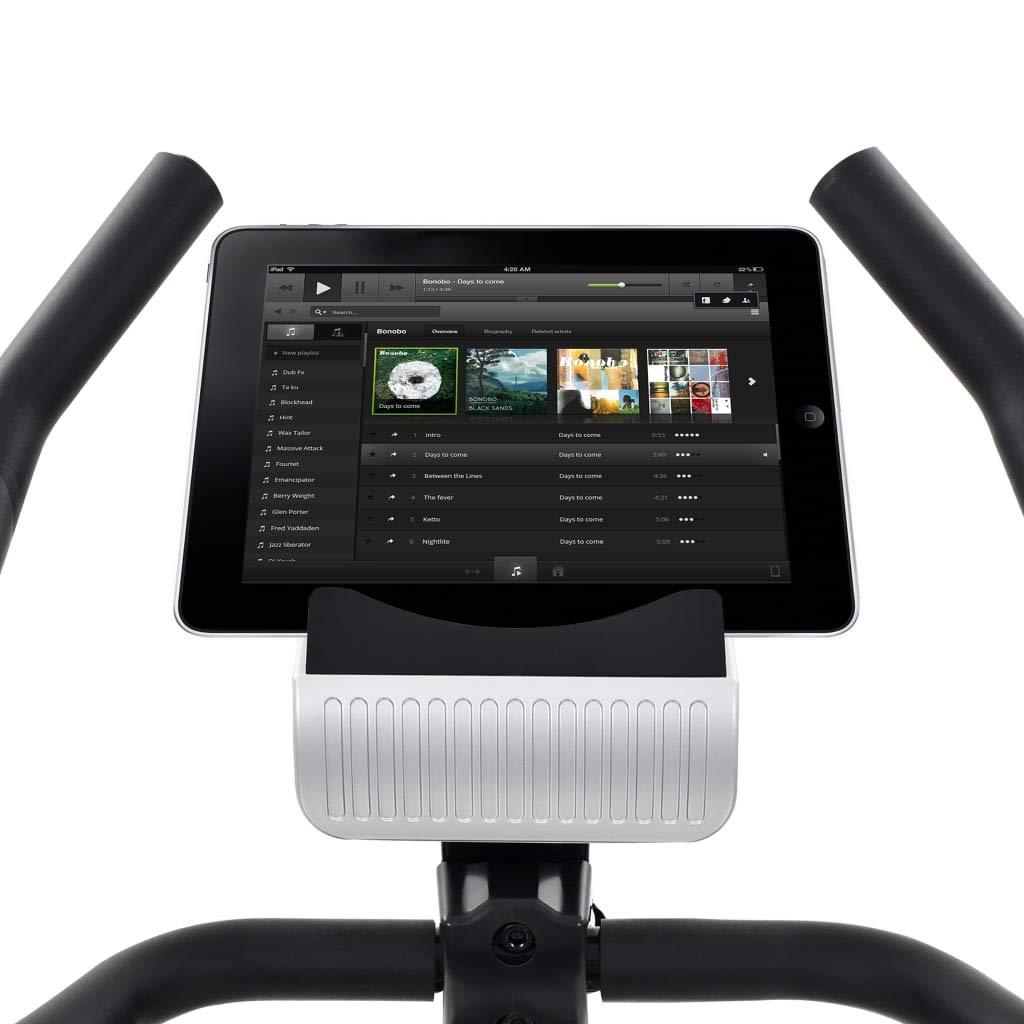 Benutzergewicht 120 kg Festnight Heimtrainer Fahrradtrainer Fitnesstraining XL 10 kg Drehmasse Pulsmessung mit LCD-Computer-Display Max