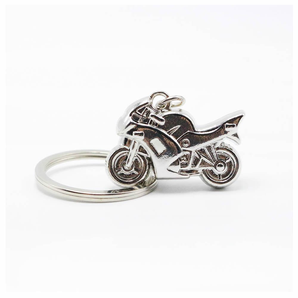 GOOTRADES Cool Motorcycle Keychain Key Ring Lover Gift (pack of 2)