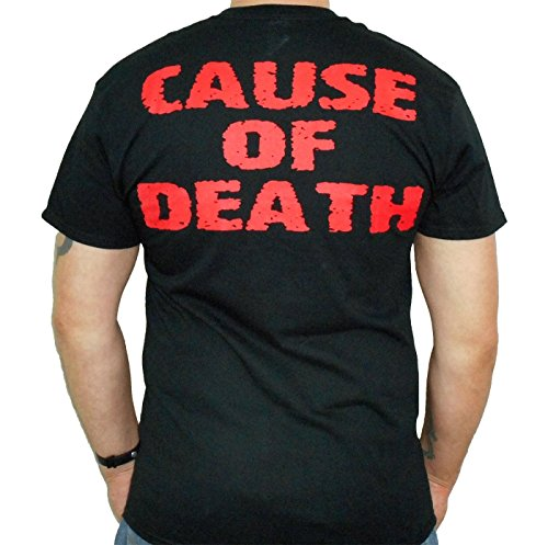 "61c4f335c Hardcore Apparel Men s Obituary ""Cause Of Death"" T-Shirt Black-XX ..."