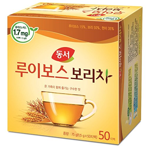 Dongsuh Food Rooibos Roasted Barley Tea 75g (1.5 g x 50 bags)