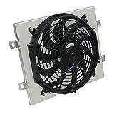ALLOYWORKS Aluminum Radiator Fan Shroud Fit for Polaris RZR800 RZR800S RZR 4 800EFI