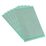 AUXcell 12x18cm Double Sided Universal Printed Circuit Board for DIY Soldering 5pcs