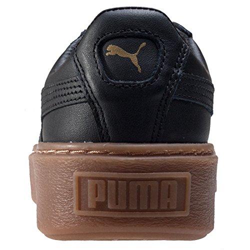 Black Noir Core Basses Femme Puma Basket Sneakers Black puma Platform puma xBwqw8pg