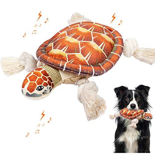 WINSHIDEN Spielzeug für Hunde, Quietschende Hundespielzeuge mit Baumwollmaterial und Knitterpapier, langlebiges…