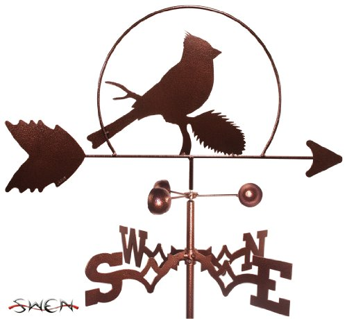 Weathervane Cardinal (SWEN Products CARDINAL Weathervane)