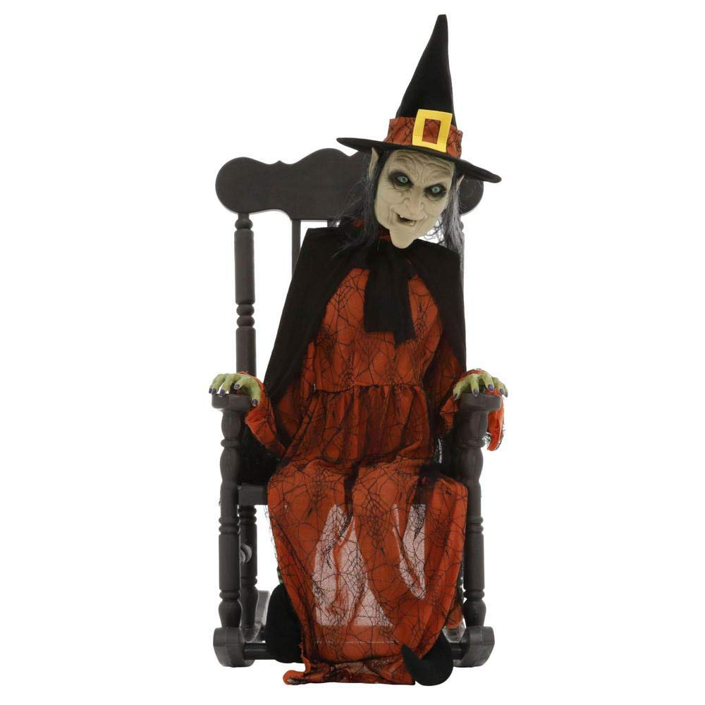 Outstanding Amazon Com Home Accents Holiday 51 In Animated Witch In Creativecarmelina Interior Chair Design Creativecarmelinacom