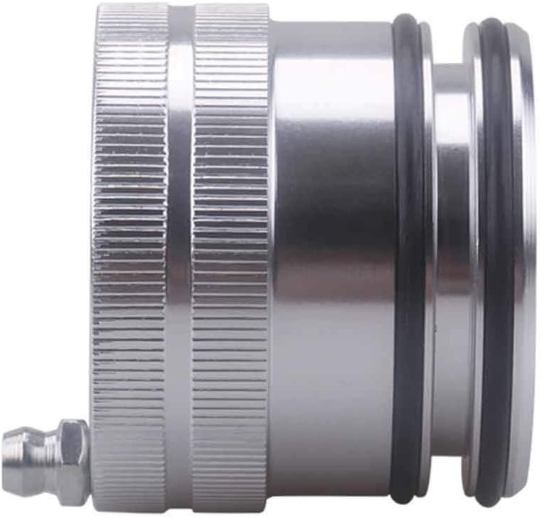 Rungao 1PC 44mm Bearing Grease Greaser Tool Fit For Polaris Scrambler 850 1000 Sportsman 550 850 Silver