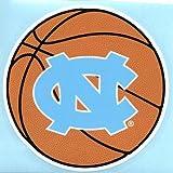 North Carolina Tarheels NC BASKETBALL 4' Vinyl Decal Tar Heels Car Sticker UNC