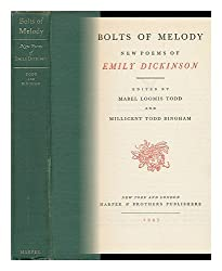 Bolts of melody; new poems