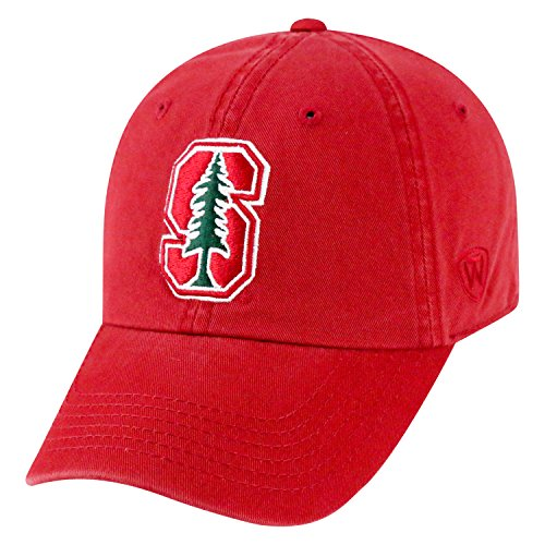 Top of the World NCAA-Cotton Crew-City-Adjustable Strapback-Hat Cap-Stanford -