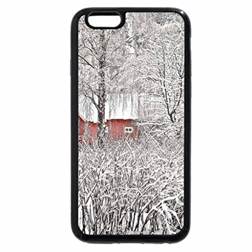 iPhone 6S / iPhone 6 Case (Black) Winter