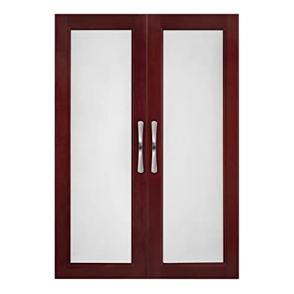 Amazon Solid Wood Closets Dochy Doors With Frosted Glass