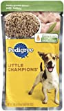 Pedigree Little Champions Meaty Ground Dinner with Turkey for Adult Dogs, 5.3-Ounce Pouches (Pack of 24), My Pet Supplies