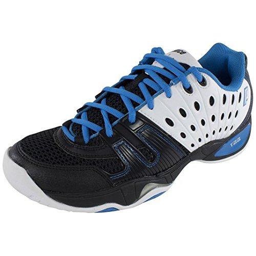 Mens White Shoe Blue Toebox