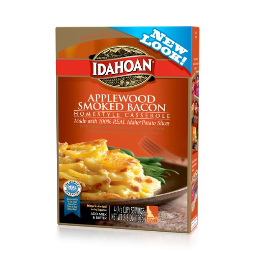 Idahoan Casserole, Homestyle Applewood Smoked Bacon, 3.8 Ounce (Pack of 12)