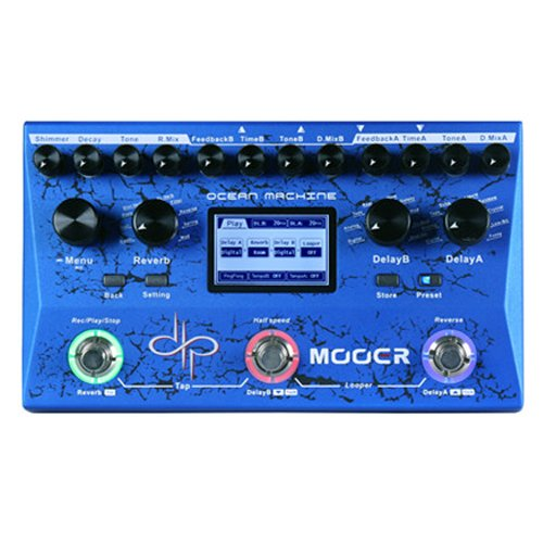 Mooer Audio Ocean Machine Devin Townsend Signature Delay/Reverb Effects Pedal by Mooer