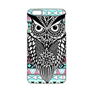diy zhengCool-benz Unique black owl 3D Phone Case for Ipod Touch 4 4th
