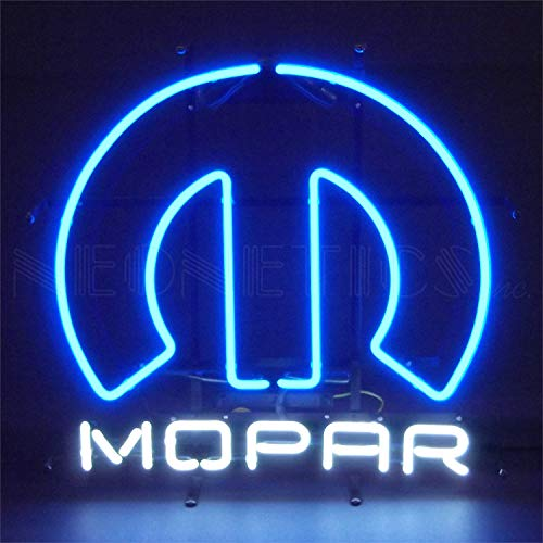 Neon Motorcycle Sculpture - Neonetics 5MPROM Car and Motorcycles Mopar Omega Neon Sign