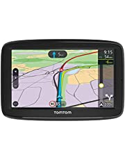 TomTom Car Sat Nav VIA 62, 6 Inch with Handsfree Calling,real-time traffic updates via Smartphone, Australia, New Zealand and Southeast Asia Maps,Resistive Screen