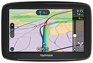 TomTom Car Sat Nav VIA 52, 5 Inch with Handsfree Calling, real-time traffic updates via Smartphone, Australia, New Zealand and Southeast Asia Maps,Resistive Screen