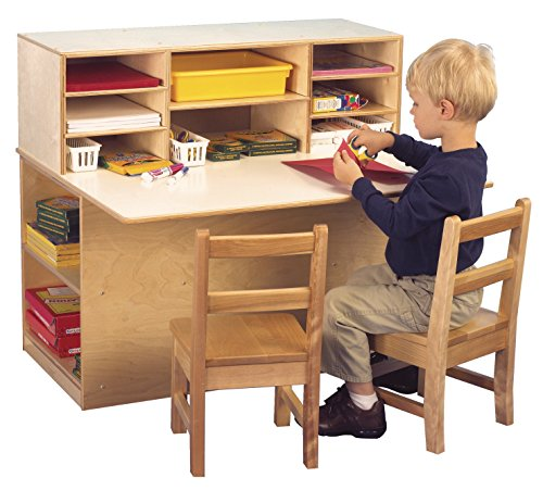 - Childcraft Single-Sided Junior Writing Center, 36-1/4 x 29-1/2 x 32-1/4 Inches